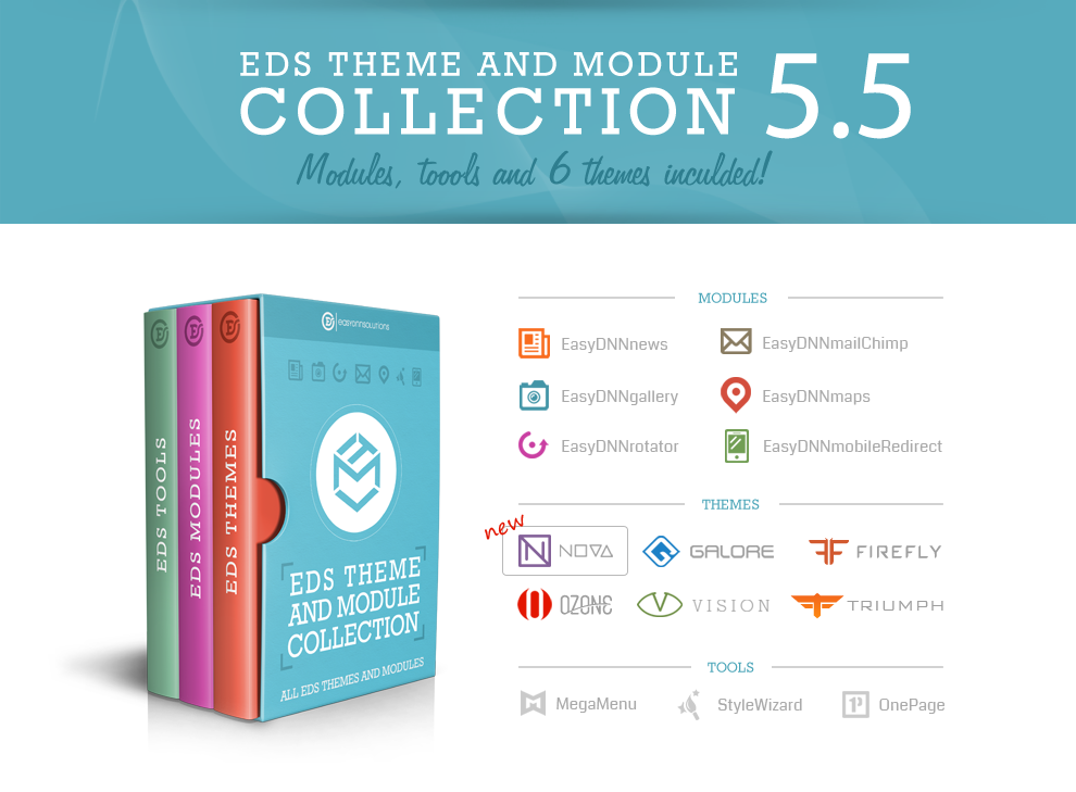 EDS theme and module collection